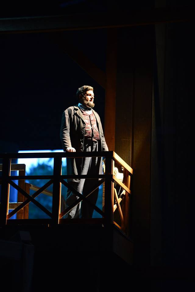Dean Dorrell as President Lincoln